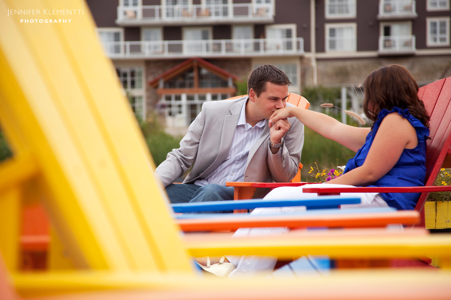 Blue Mountain Village is a great Ontario destination for couples