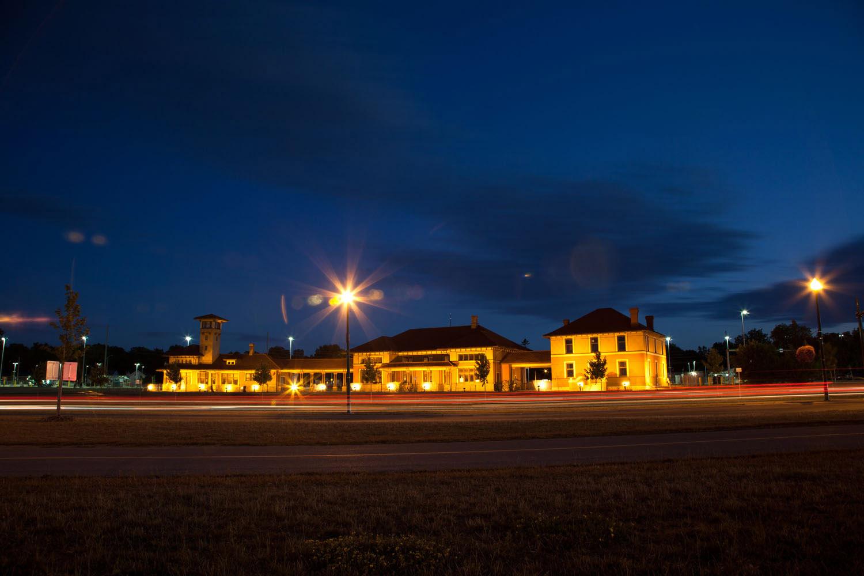 Allandale train station