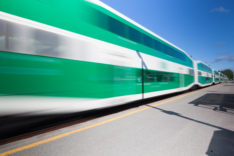 Go Train Allandale Waterfront