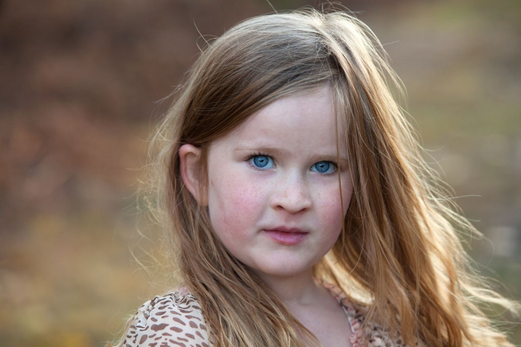 Natural portraits of kids