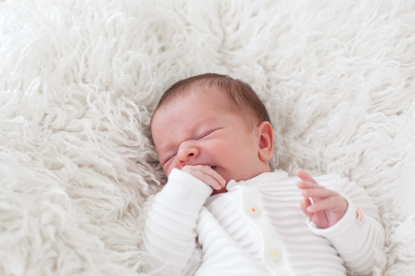 Fine Art Newborn Portrait