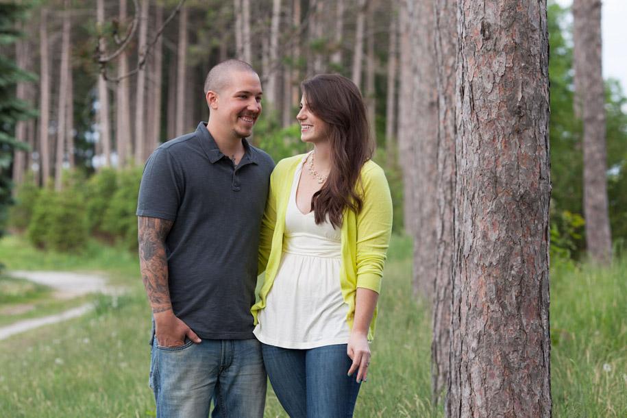 Barrie Engagement Portraits