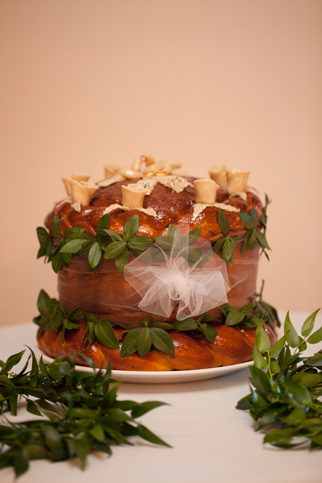 Korovai - Ukrainian cermonial wedding bread