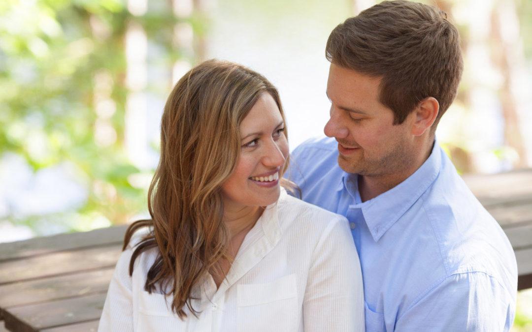 Brad & Tessa   Cottage Engagement Session, Muskoka