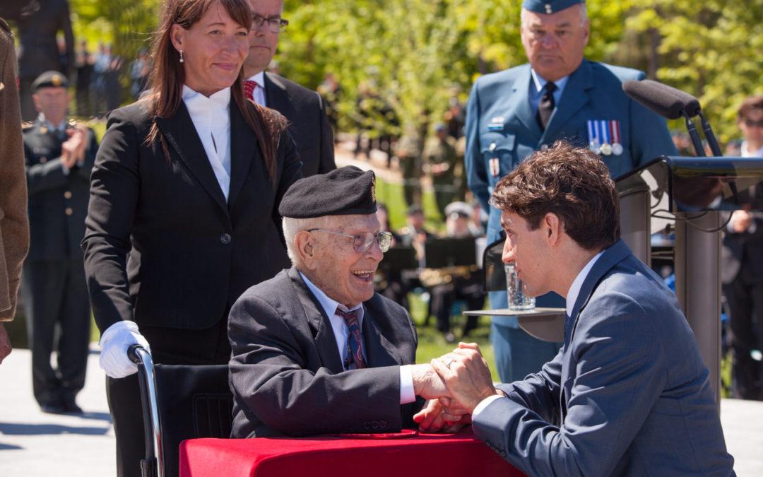 Base Borden Legacy Monument Unveiling Ceremony