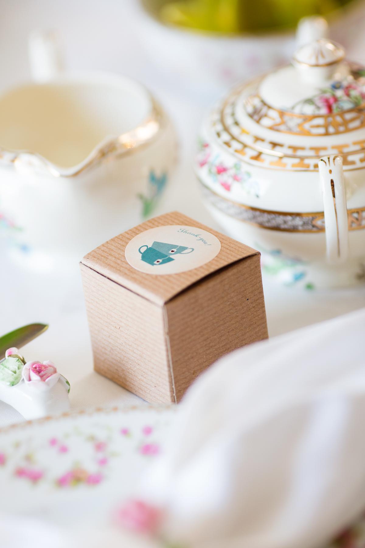 Vintage inspired High Tea and menu by Cravings