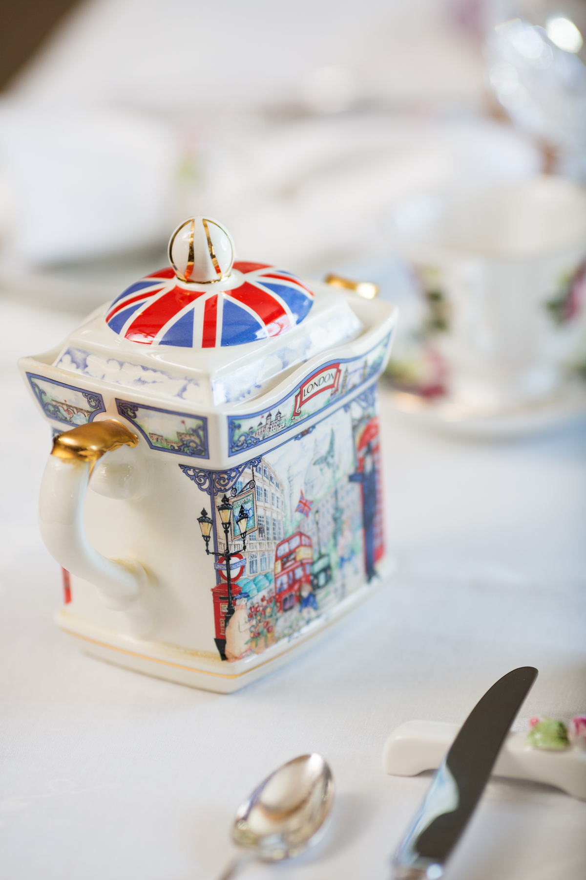 Vintage inspired High Tea and menu by Cravings