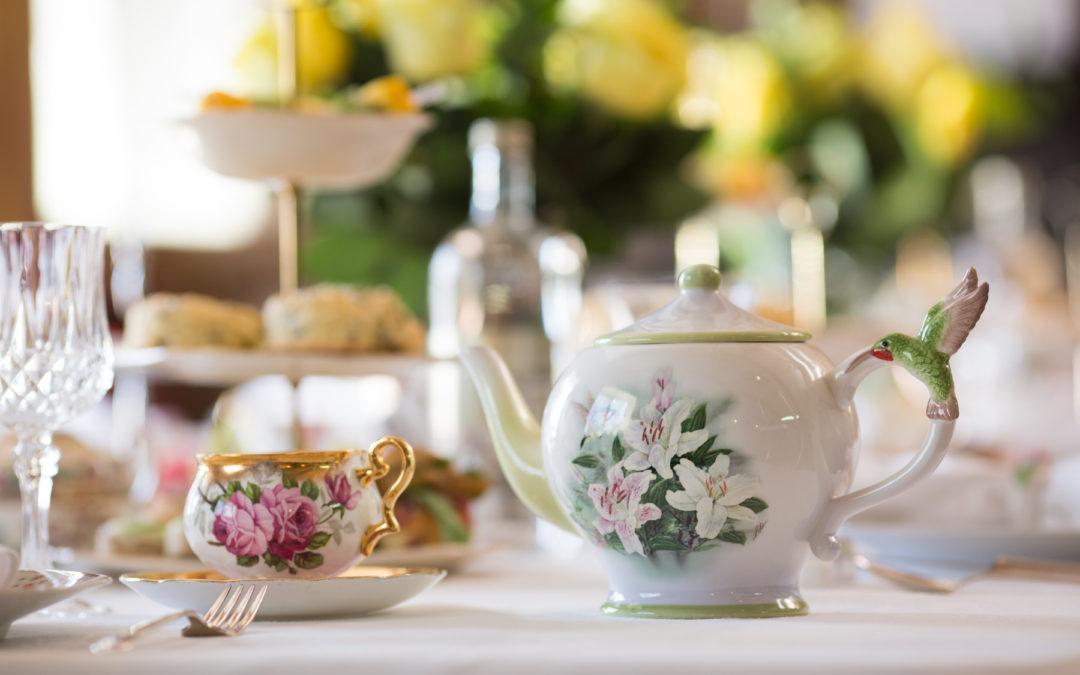 How to host a vintage inspired High Tea
