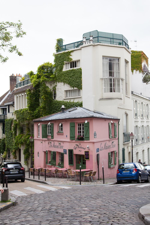 La Maison Rose, Montmartre, Paris