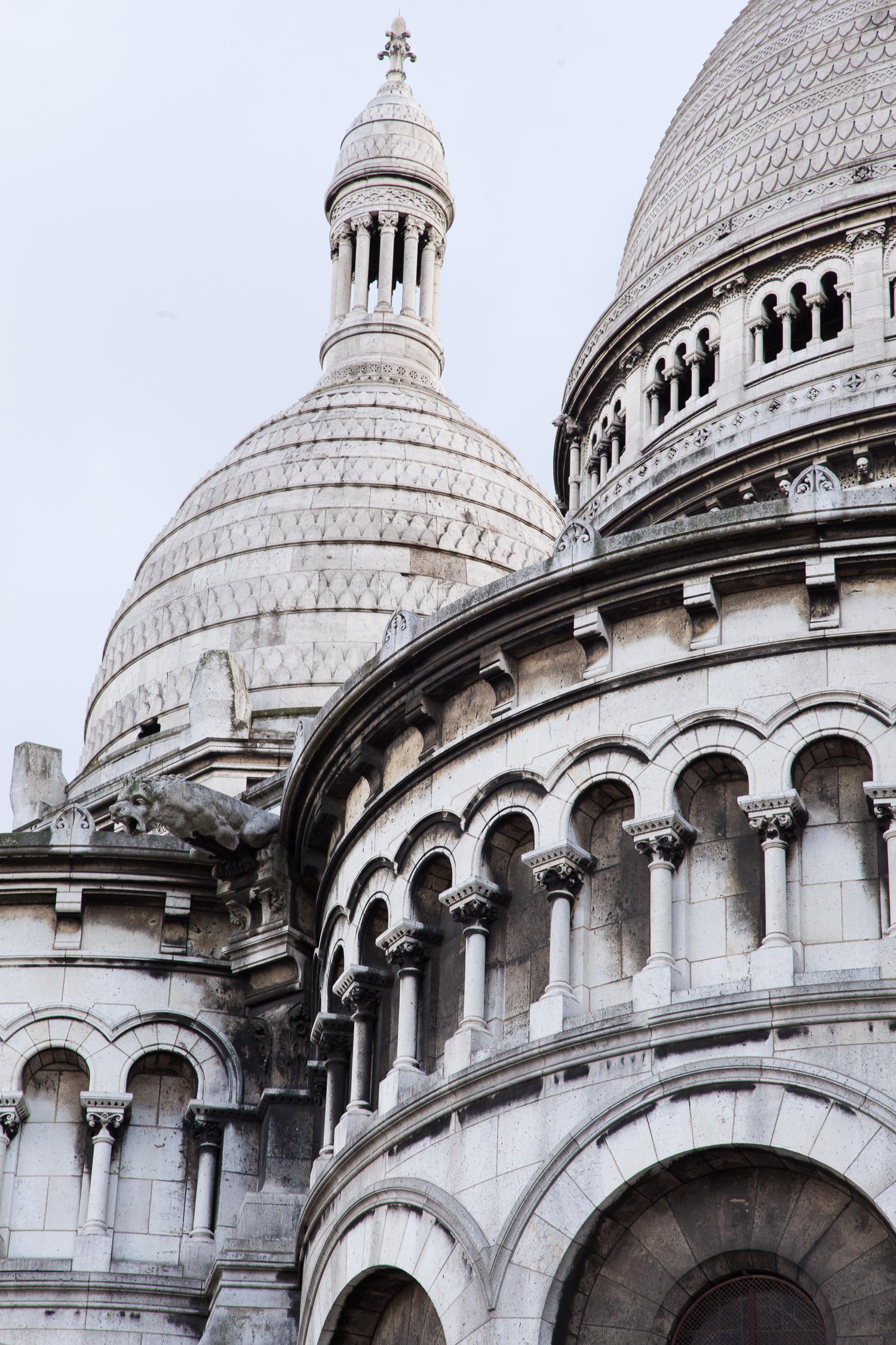 Basilica Sacre Coeur, Montmartre, Paris