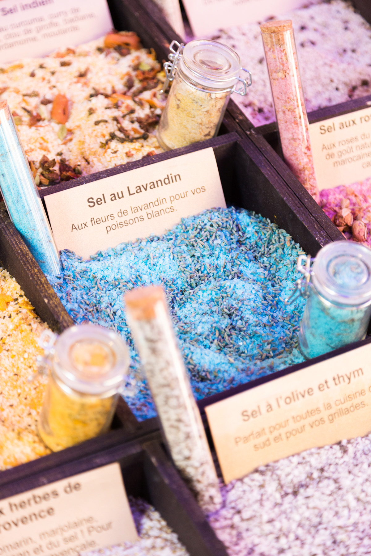 Artisan salt shop Old Town Nice
