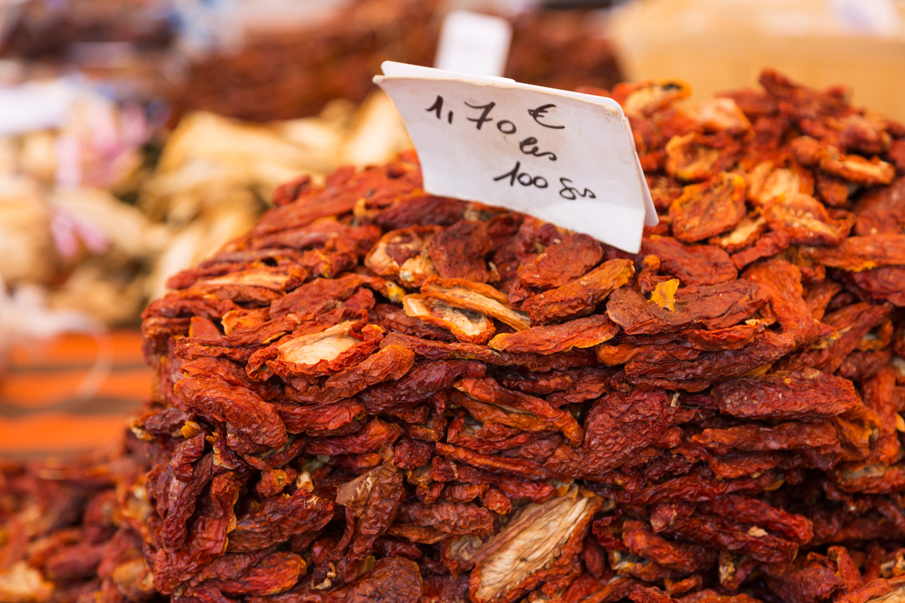 Cours Saleya Market in Nice, France